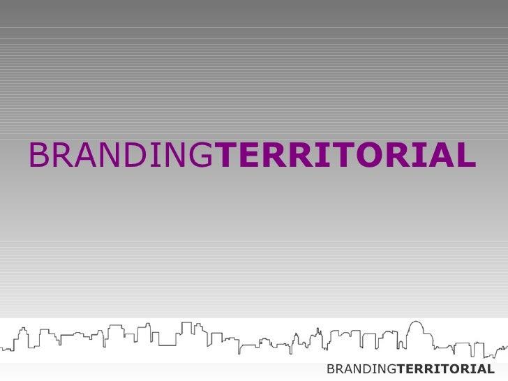 Branding Territorial - teaser