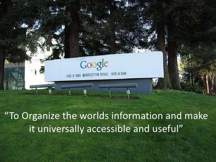 Branding the google