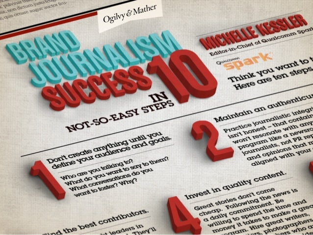 Brand Journalism Success In 10 Not-So-Easy Steps