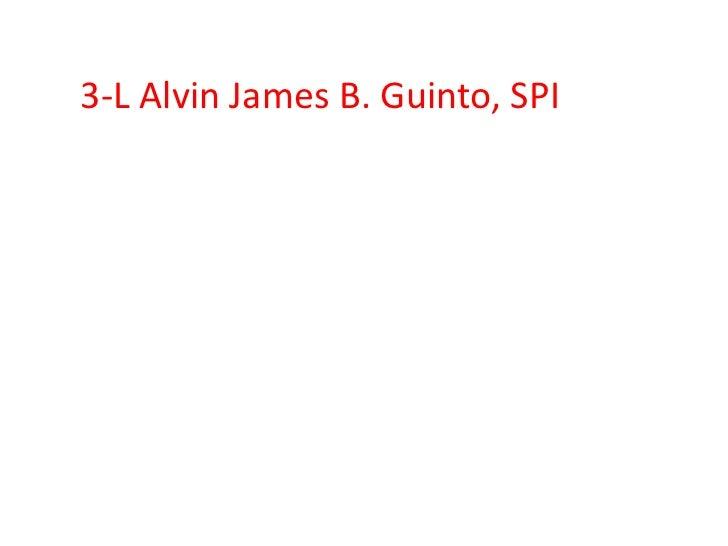 3-L Alvin James B. Guinto, SPI