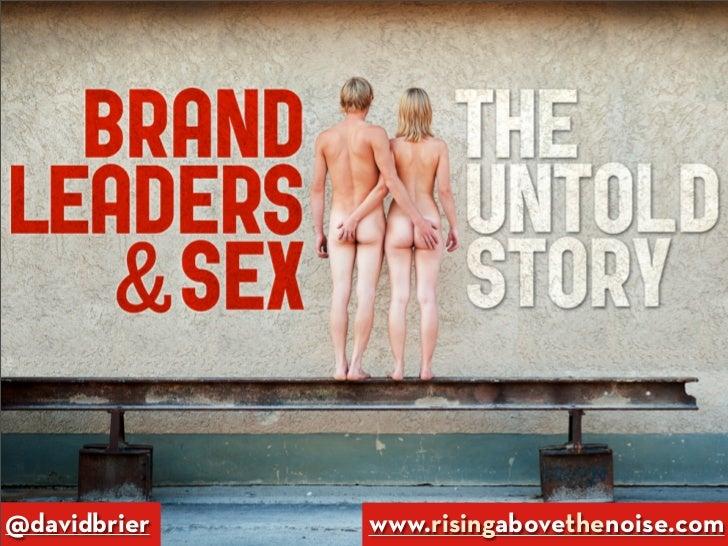 @davidbrier   www.risingabovethenoise.com