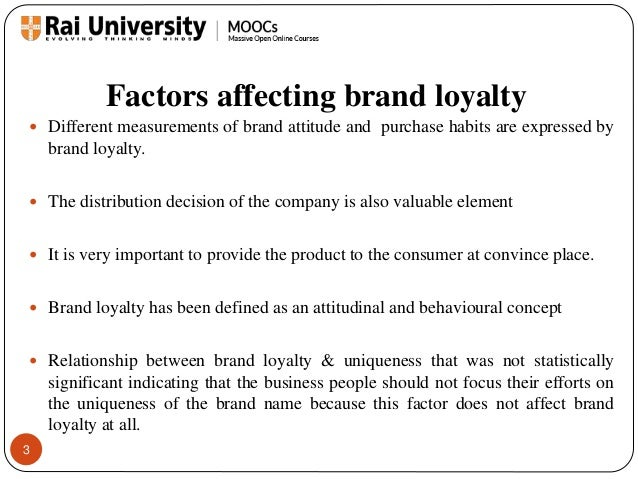 factors affecting brand loyalty Related articles to what factors influence customer loyalty what is a customer-centric organisation most if not all companies believe themselves to be customer.