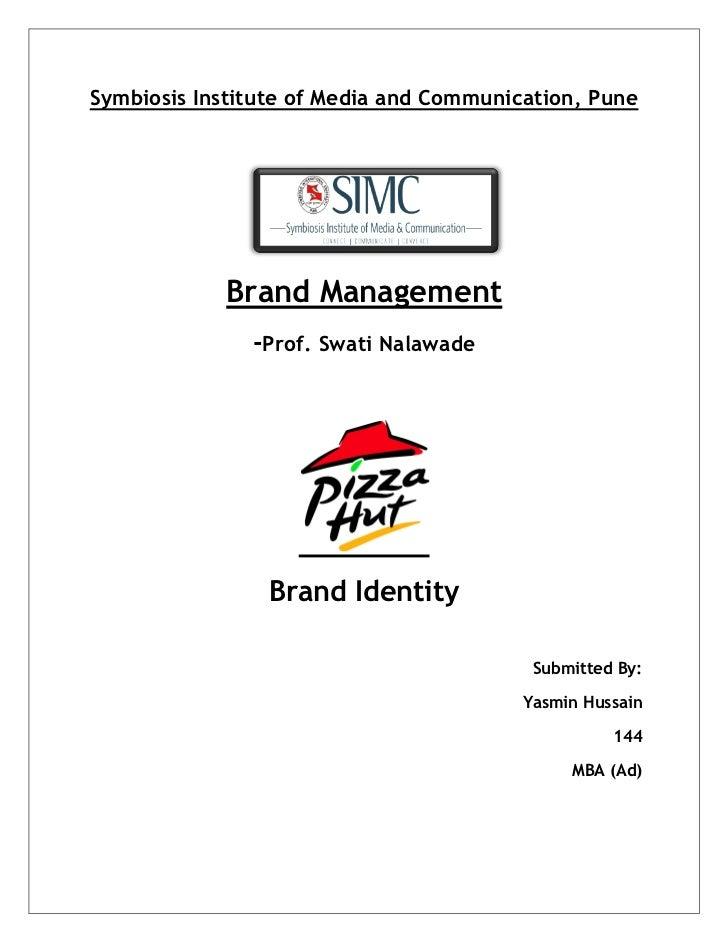 Brand Management - Pizza Hut