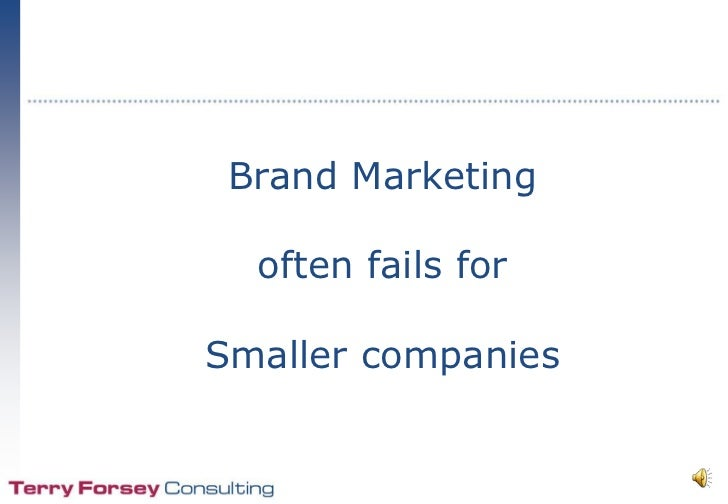 Brand marketing fails
