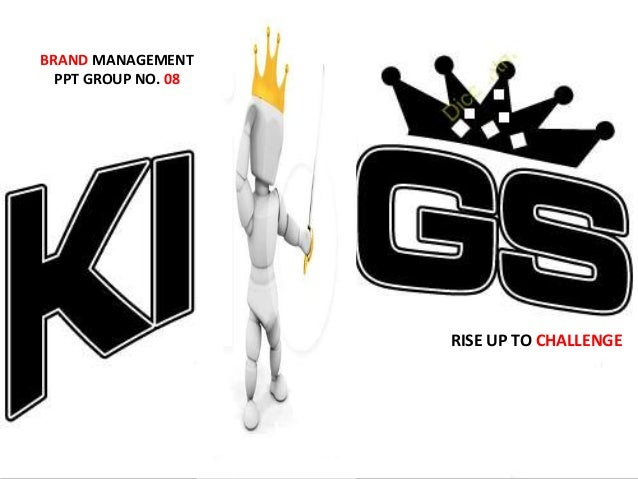 RISE UP TO CHALLENGE BRAND MANAGEMENT PPT GROUP NO. 08