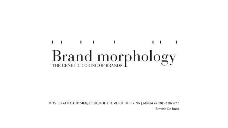 MDS | STRATEGIC DESIGN, DESIGN OF THE VALUE OFFERING | JANUARY 10th-12th 2011                                             ...