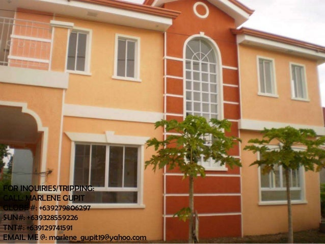 Ready for occupancy house and lot Amanda Model for sale Brandew