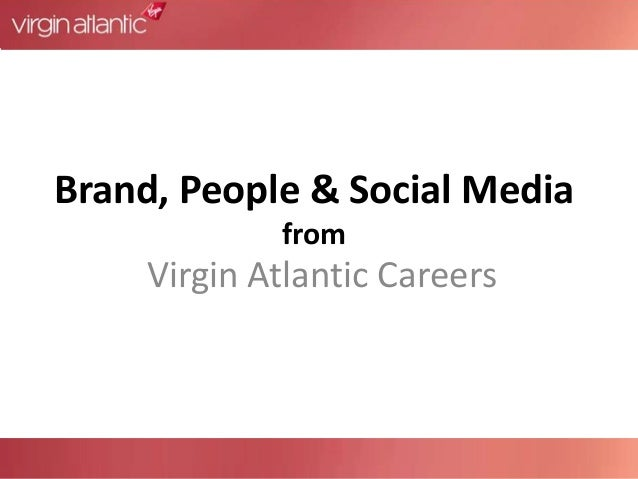 Brand, people & social media