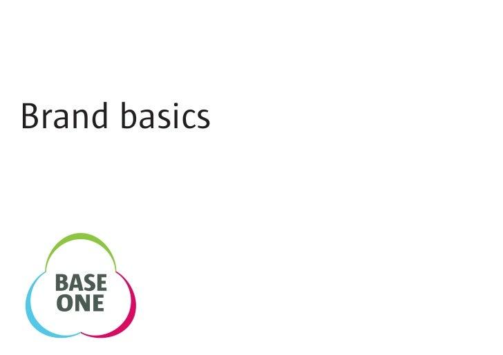 Brand basics