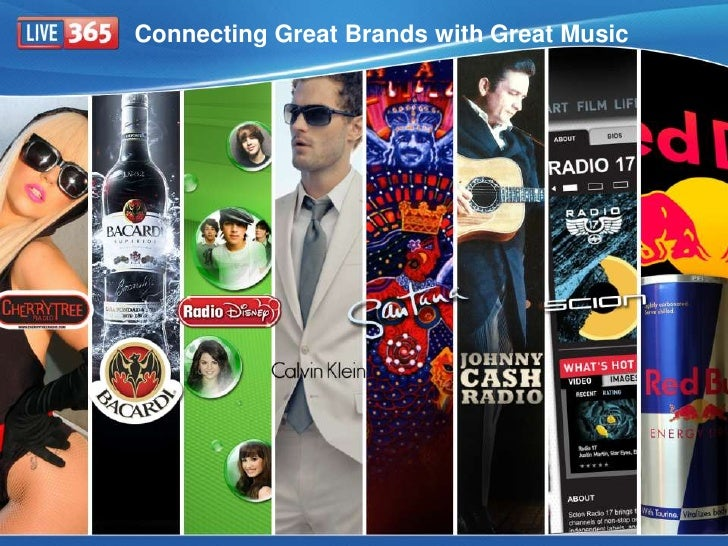 Connecting Great Brands with Great Music<br />