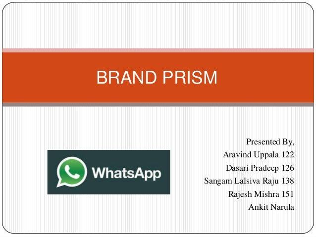 BRAND PRISM  Presented By, Aravind Uppala 122 Dasari Pradeep 126 Sangam Lalsiva Raju 138 Rajesh Mishra 151 Ankit Narula