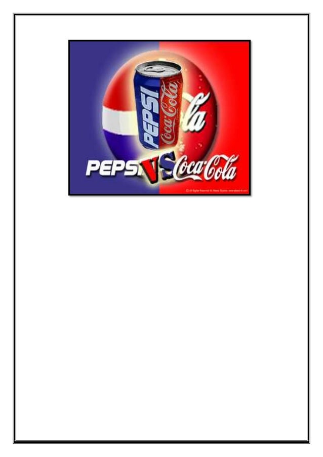 coke vs pepsi case study eva Read this business case study and over 88,000 other research documents coca-cola vs pepsi and economic situations in countries that coke and pepsi are.