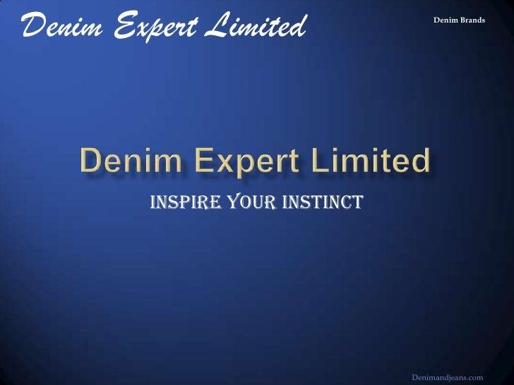 Denim Brands From Denim Expert Bangladesh