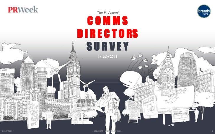 Brands2Life Comms Directors Survey