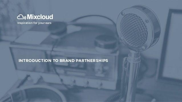 Brands and Mixcloud