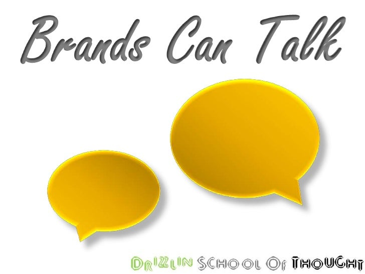 Brands Can Talk<br />