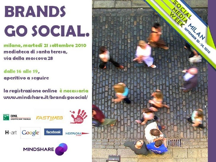 BRANDS GO SOCIAL @SMW Rassegna stampa