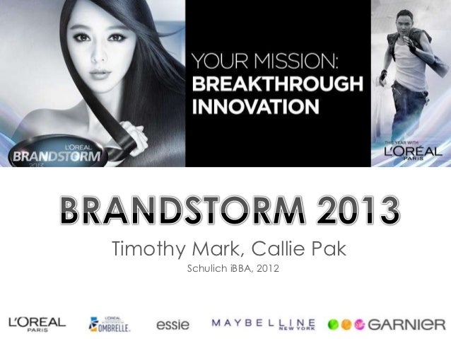Brandstorm 2013 Information Session - Schulich