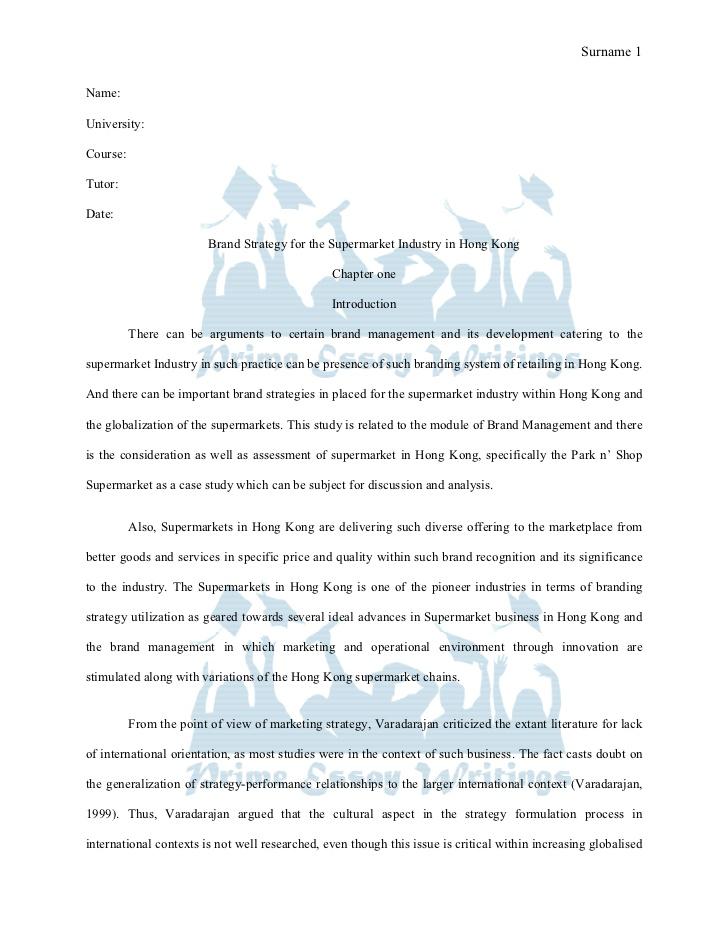 sample essay report