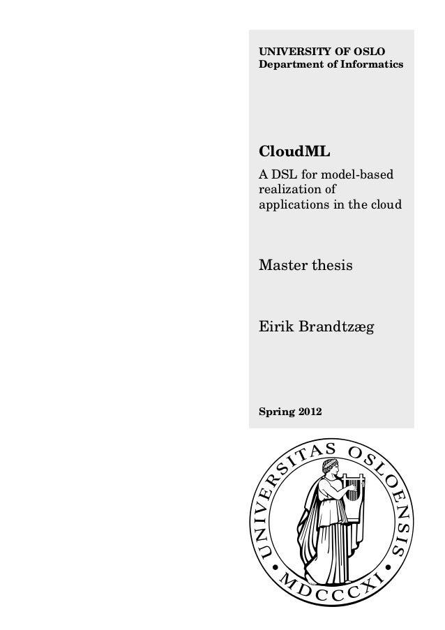 Brandtzaeg master