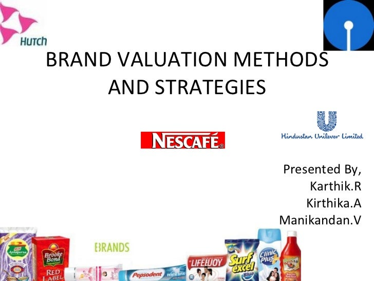 Brand valuation methods and strategies