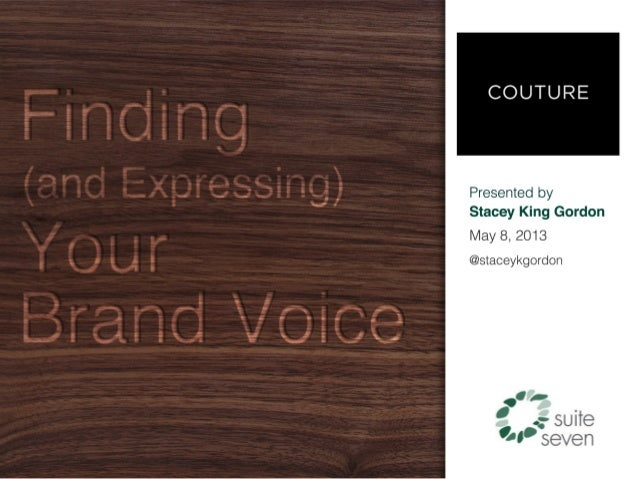 Finding (and Expressing) Your Brand Voice