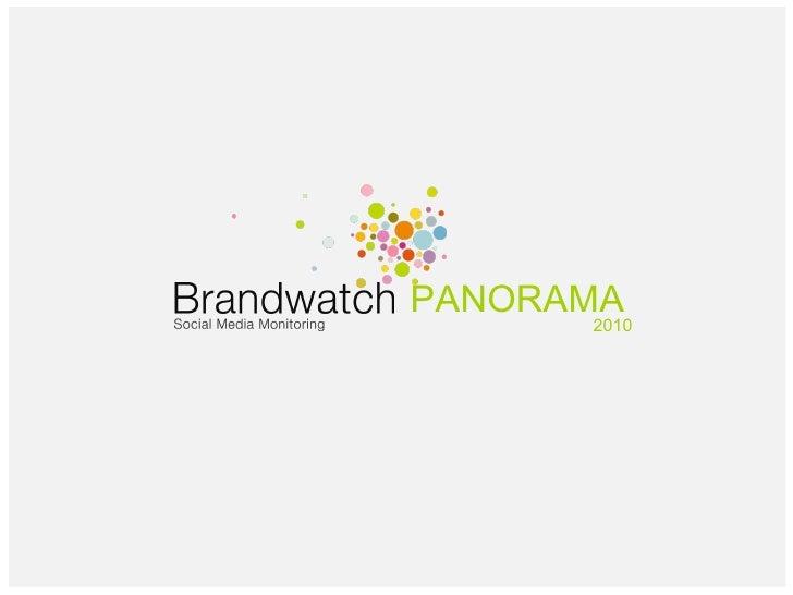 Brandwatch Monitoring Solution