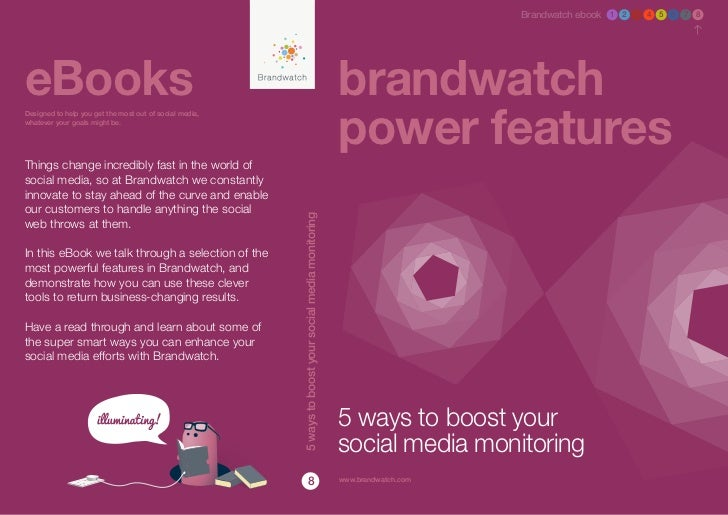 eBook 8 - Brandwatch Power Features: 5 Ways to Boost Your Social Media Monitoring
