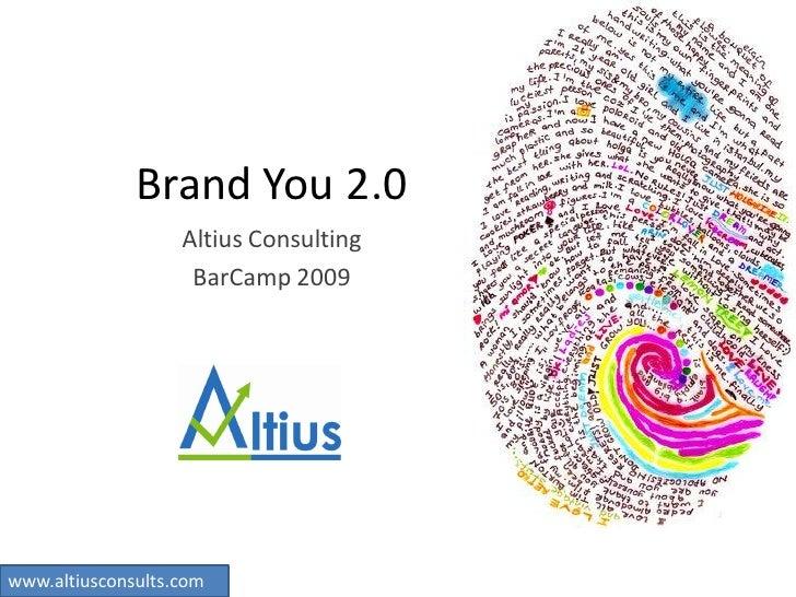 Brand You 2 Altius