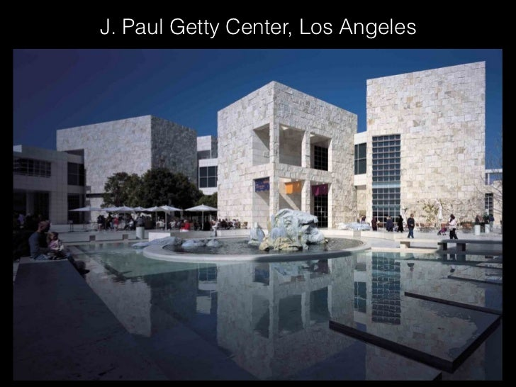 J. Paul Getty Center, Los Angeles