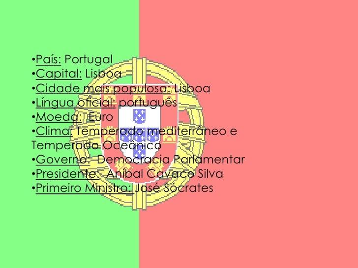 <ul><li>País: Portugal