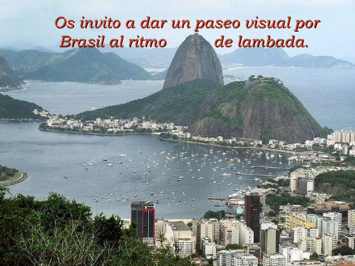 Brasil a ritmo de lambada
