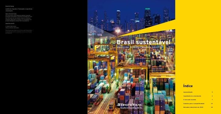 Brasil Sustentável: Horizontes da Competitividade Industrial