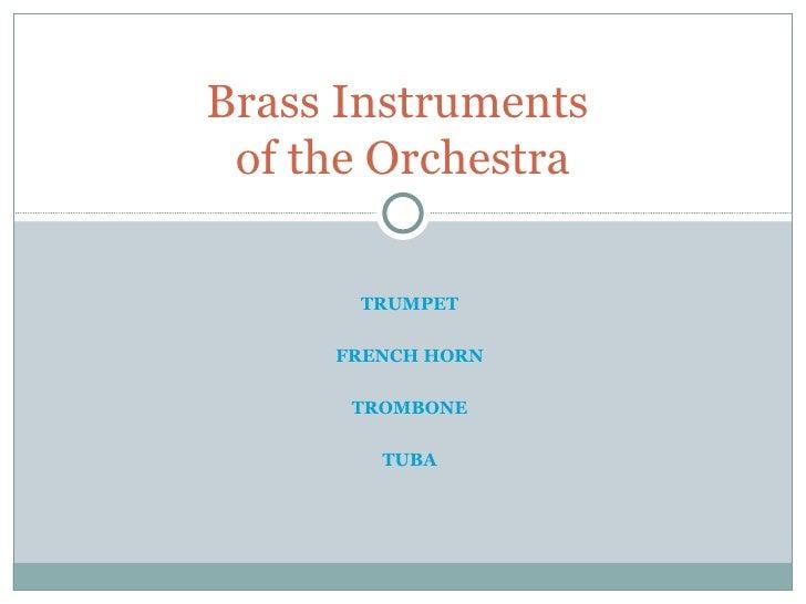 Brass Instruments Final