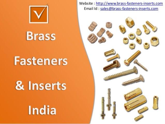 Brass fasteners Brass  inserts moulding inserts