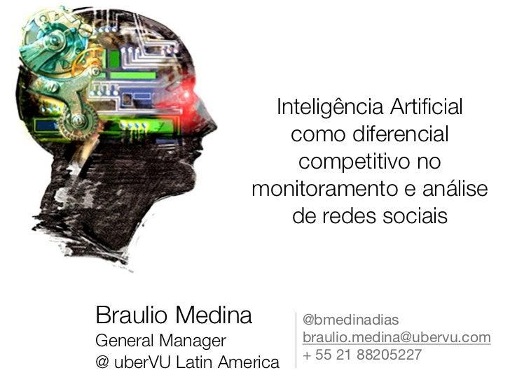 Inteligência Artificial no Monitoramento de Mídias Sociais Social Business Intelligence