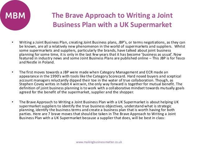 Writing a business plan uk