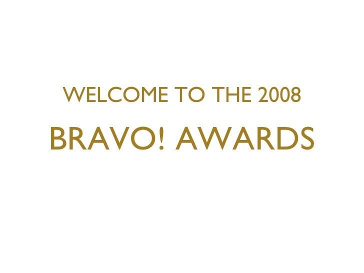 2008 NAWBO San Diego BRAVO! Awards
