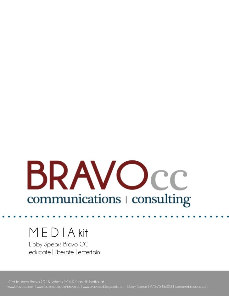 Meet Bravo CC: Our Media Kit