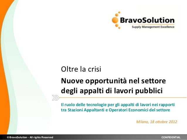 Dott. Antonio Cappiello  -  Bravo Solution