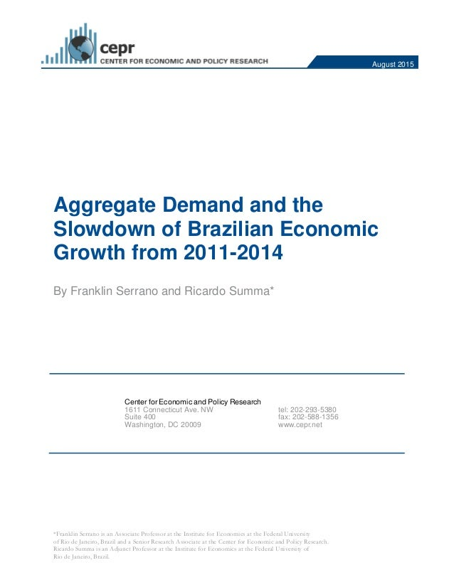 Essay on brazilian economy