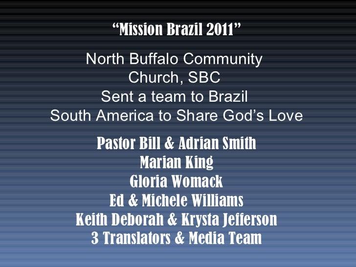 Brazil 2011 2 photo album