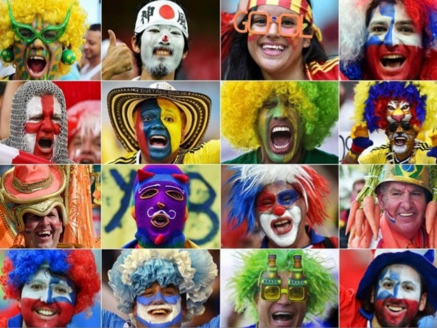 Brazil 2014: World Cup faces