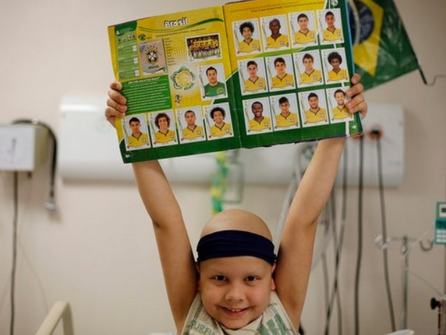 Brazil 2014: World Cup, The Best Medicine Children cheer on the home team from a Sao Paulo cancer hospital.