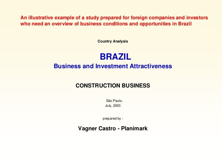 Brazil & Construction Business