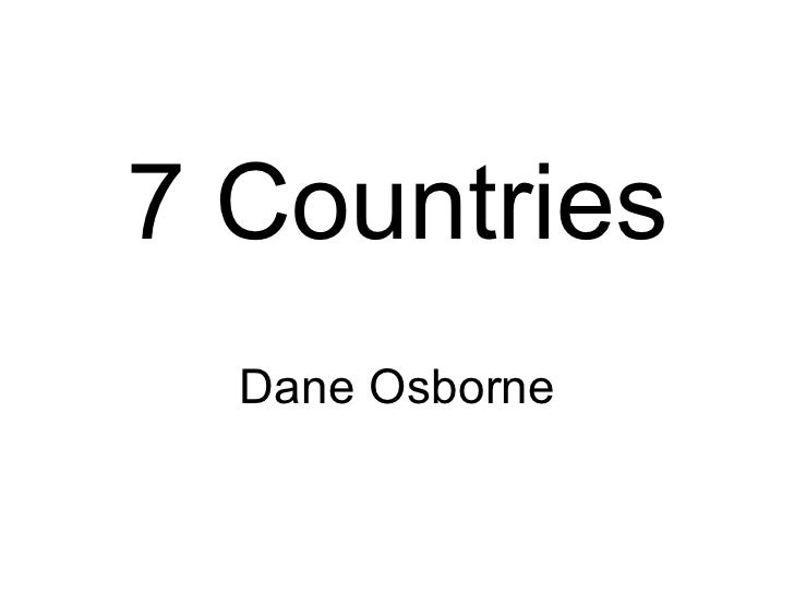Dane 7 Countries