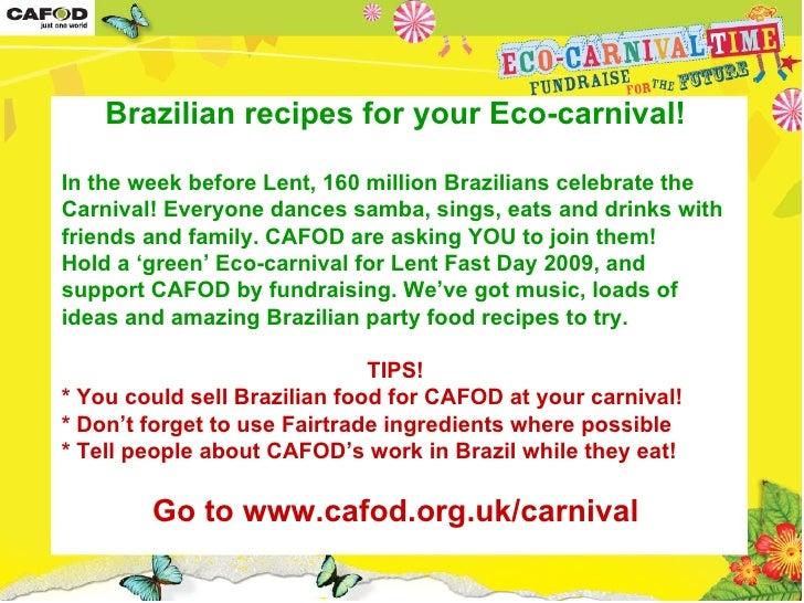 CAFOD Eco-carnival