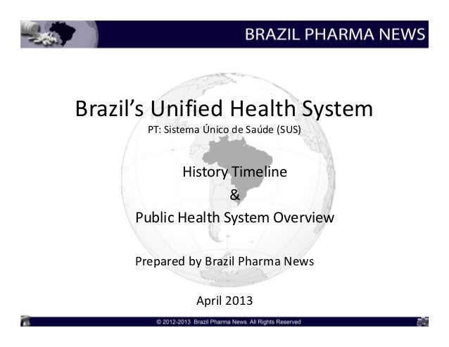 Overview of Brazil's Unified Health System (SUS)