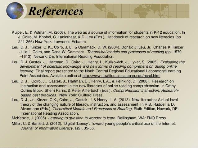 baker 2005 reference dissertation