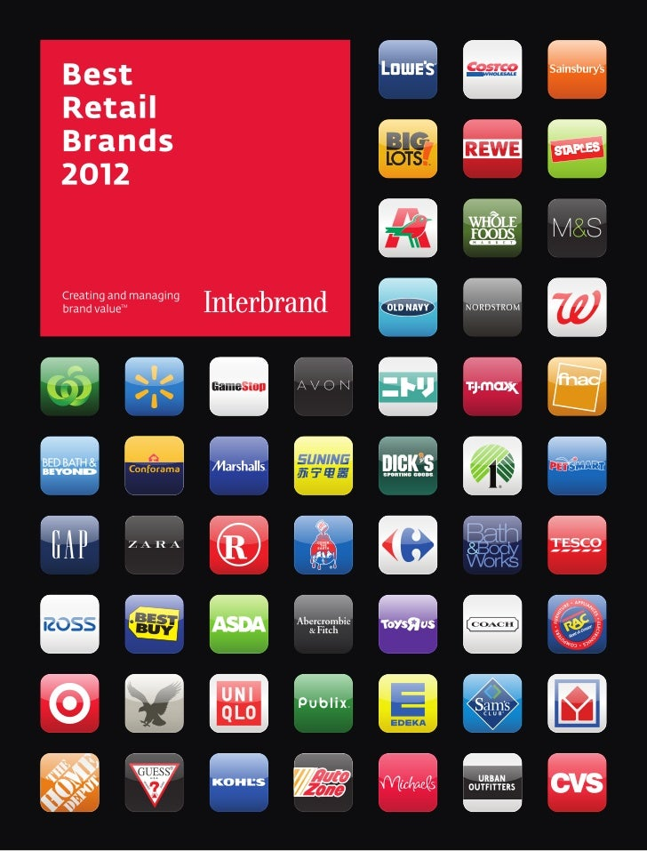 Founded in 1974, Interbrand is one of the world's               For more than 30 years we have been creating retaillargest...